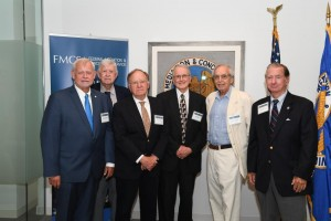 Former FMCS Directors gather for the Agency's 70th anniversary celebration.