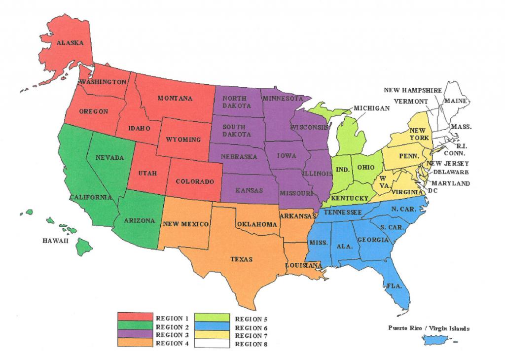Arbitration Regional Map